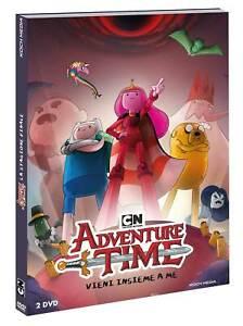 ADVENTURE TIME  2 DVD  COFANETTO  ANIMAZIONE