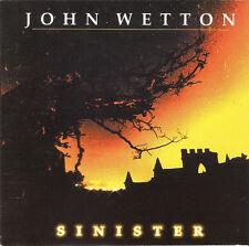 John Wetton – Sinister CD NEW