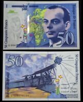 Banque de France 50 Francs Saint - Exupéry, 1993 Ref : F. 72/2 UNC