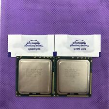 Lot of 2 Intel Xeon X5650 2.66 GHz Six Core L3 12M Processor LGA1366 SLBV3 CPU