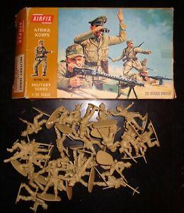Vintage 1970's? Airfix # 1806 1:32 Scale Figures - WWII German Afrika Korps