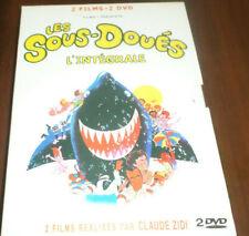 LES SOUS DOUES EN VACANCES + LES SOUS DOUES PASSE LE BAC / COFFRET 2 DVD 2 FILMS