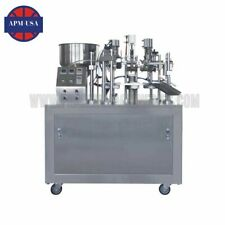 Semi-automatic Plastic Tube Filling Sealing Machine-10-20pcs/min Plastic Tube