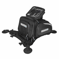 Spada Luggage Motorcycle Motorbike Midi Cargo LOK Tank Tail Bag Black - 8 Litre