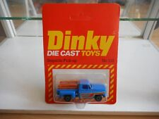 Dinky Toys Stepside Pick-up in Blue on Blister (Made in Hong Kong)