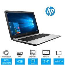 "HP 15-ay079na 15.6"" Laptop, Pentium N3710, 4GB, 1TB, Win10, 1BW61EA"