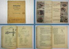 MWM KD 215 Dieselmotor Betriebsanleitung + Einzelteilverzeichnis 1949