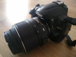 Nikon 25454 D5000 Digital SLR Camera with 18-55mm VR Lens - Black
