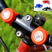 1PC Silicone Bike Bicycle Back Rear Tail Cycling LED Light Safety Warning Light