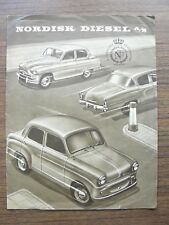 Studebaker Standard 8 Standard Vanguard Willys Lambretta Ad Brochure 1950s