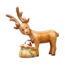 Goebel Heimlich naschen ANGEBOT Rentier Figur Göbel Hummel Weihnachten NEU