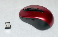 2,4Ghz Schnurlose PC Funk Maus Maus Schnurlos Notebook Lapop 10m Bordo Black