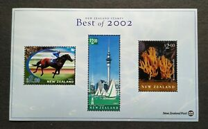 New Zealand Best of 2002 Stamps Horse Racing Special Mini-Sheet MS Mint NH