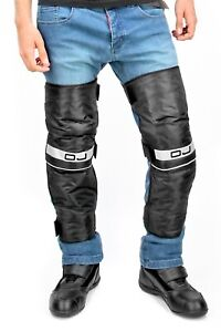 Kneepads Thermal Windproof Motorcycle Scooter OJ Long Knees Autumn Winter