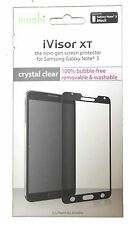 moshi  ivisor AG  screen protector  for  Samsung galaxy Note 3 in black