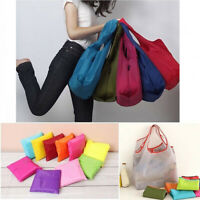 Reusable Storage Eco Friendly Shopping Bag Folding Large Grocery Travel Tote