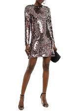 McQ Alexander McQueen Sequined Tulle Mini Dress