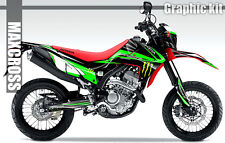 HONDA CRF250L CRF250M MAXCROSS GRAPHICS KIT DECALS DECAL STICKERS FULL KIT #20