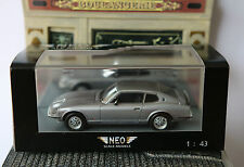 DATSUN 260Z 2+2 SILVER 1975 NEO 43987 1/43 SILBER LEFT HAND DRIVE LHD ARGENT