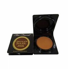 Too Faced CHOCOLATE SOLEIL TRVL Medium Deep .08 oz Matte Bronzing Powder Bronzer