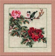 Chinese Summer - Riolis Counted Cross Stitch Kit w/16 Ct. Aida New