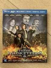 Blu-ray The Three Musketeers 3D