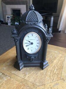 Oval Bronze Clock