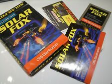 NTSC Solar Fox Complete Atari 2600 Video Game System