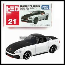 TOMICA #21 ABARTH 124 SPIDER 1/57 TOMY 2017 APRIL NEW MODEL DIECAST CAR