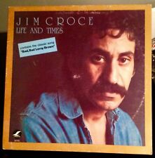 Jim Croce'  LIFE AND TIMES LP Record LIFESONG 35008