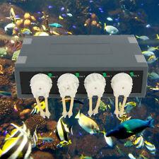 Jebao/Jecod DP-4S 12V Aquarium Automatic Water Dosing Dose Pump Fish Tank Kit