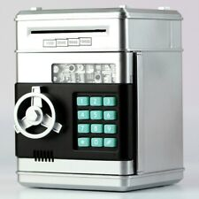 Digital Moneybox Cash Money Box Saving Banks Piggy ATM Coin Holder Jar Electric