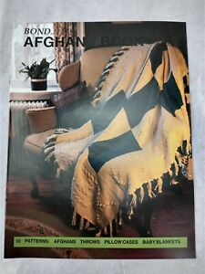 Afghan Pattern book for Bond USM Ultimate Sweater knitting Machine Pattern BooK