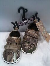 Realtree Toddler Size 2  Sneakers shoes Camo