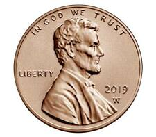 2019 W Reverse Proof Lincoln Shield Cent in OGP West Point Mint Sealed Plastic