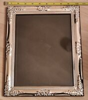 Picture Frame Ornate Silver Plated