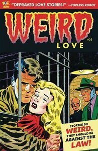 WEIRD LOVE #23 (NM) 2018 IDW / YOE COMICS - BIZARRE ROMANCE - CHARLTON HARVEY