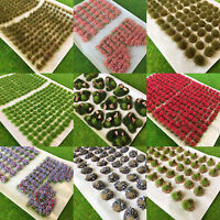 Mixed Static Grass Tufts  - Multi Model Scenery Railway Wargames Self Adhesive