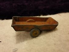 Vintage - Dinky Toys 320 - HALESOWER FARM TRAILER rare damage