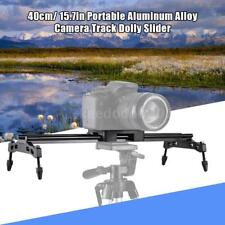 "Andoer 40cm/16"" Camera Track Dolly Slider Tripod Stabilizer Rail for DSLR Camera"