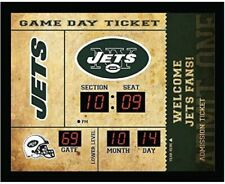 New York Jets scoreboard LED clock bluetooth speaker date time 20x2x16