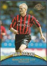 TOPPS PREMIER GOLD- 2000-01- #078-MANCHESTER CITY & NORWAY-ALFIE HAALAND