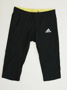 Adidas elastische 3/4 Sporthose Jogginghose Tight Hose Laufhose * 32 42 44 46 48