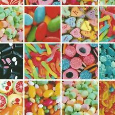 Sweets Candy Jelly Beans Stationary Fablon Crafts Self Adhesive Film Vinyl