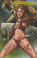 Jungle Fantasy Annual Fauna Variant Remarqued by Zanier Boundless Comics Sketch