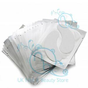 Under Eye Gel Pads Eyelash Pads Eye Lash Extension Lint Free Genuine UK Based