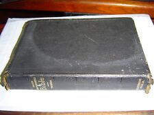 THE NEW CHAIN REFERENCE BIBLE 3RD IMPROVED EDITION (1934) BLACK LEATHER