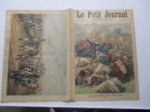 Le petit journal 1894 180 La défaite des touareg