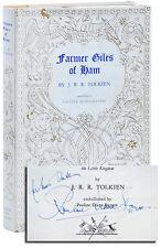 J.R.R. Tolkien-FARMER GILES OF HAM (1949)-1ST UK ED, INSCRIBED BY PAULINE BAYNES