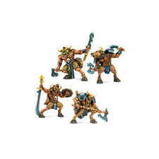 MINOTAURS - set of 4 MINIATURES (54mm scale, plastic, unpainted) by TEHNOLOG